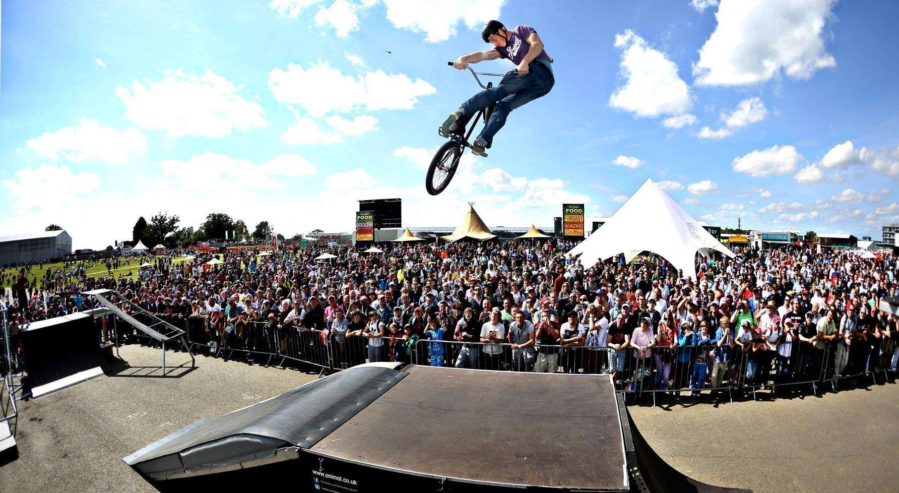Betteshanger Country Park will host a Cycling Spectacular