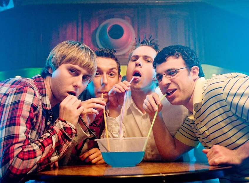 It is thought the incidents were inspired by a scene in the new Inbetweeners 2 film