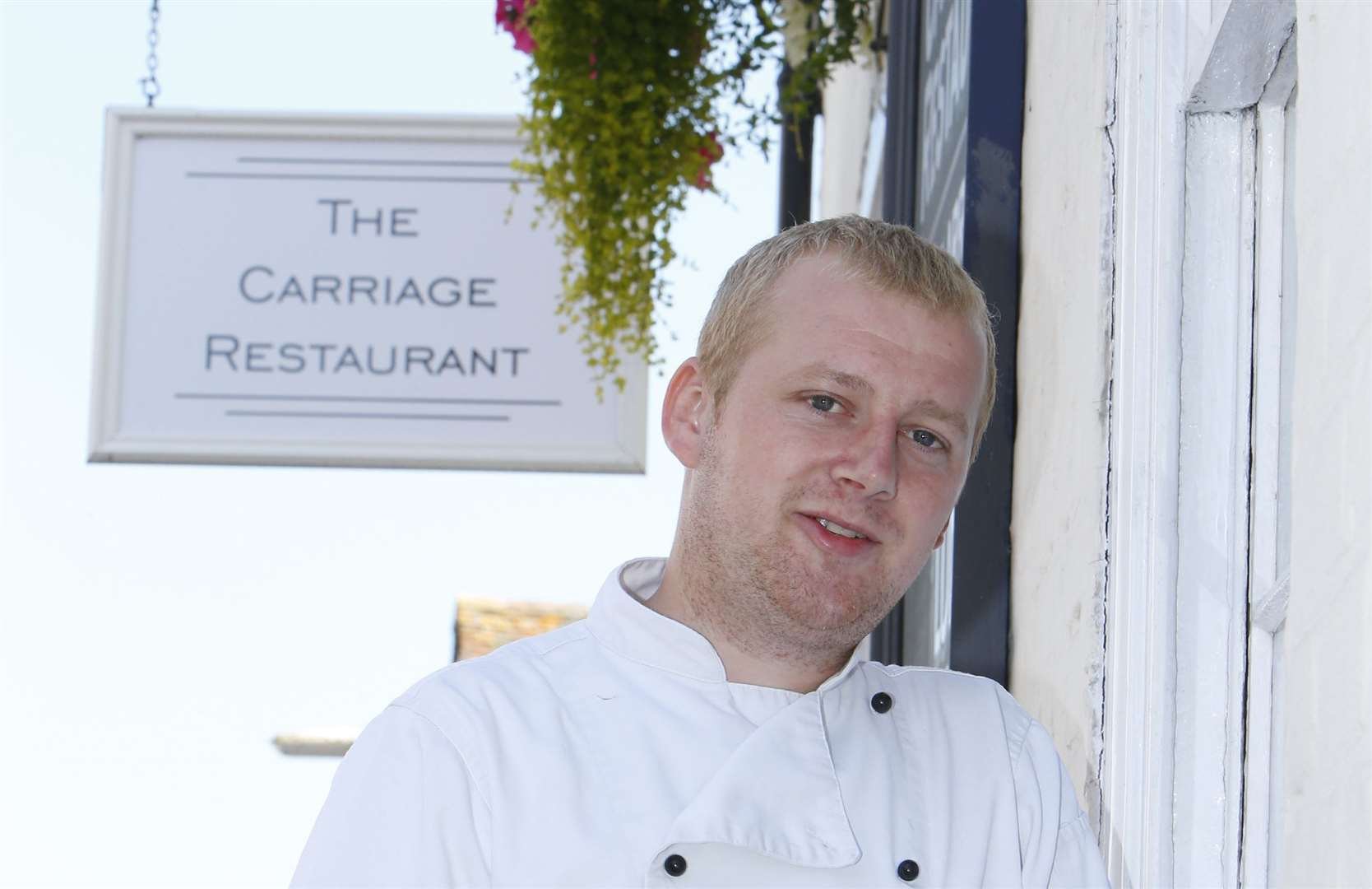 The Carriage Restaurant co-owner and chef, Nicky Martin. Picture: Andy Jones