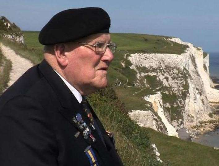 Dunkirk veteran Harry Garrett will be remembered by the new hall at the centre
