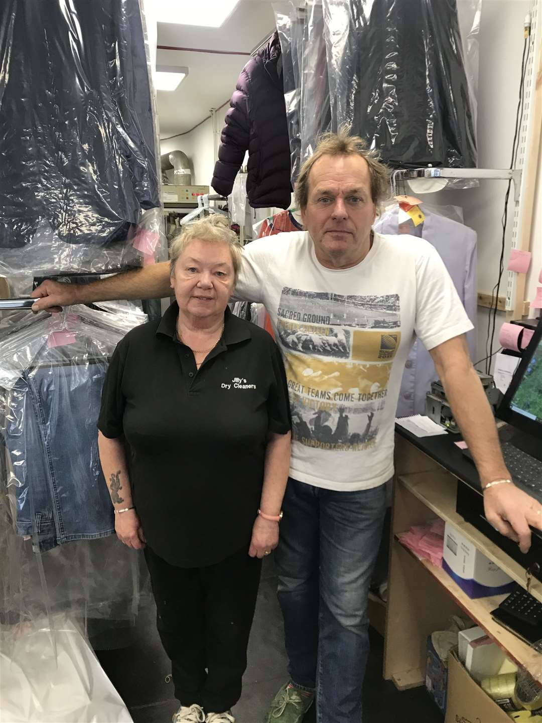 Jilly and Jamie Stenhouse are delighted to be back up and running after a fire in May (21699447)