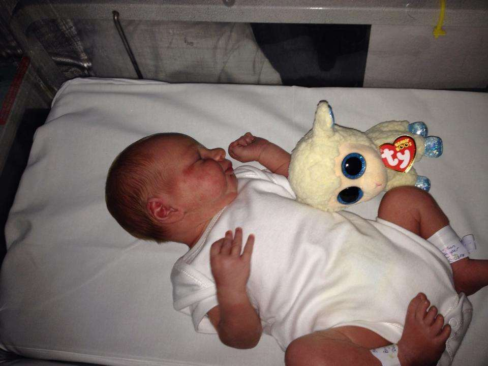 Baby Tony Smith was left in a critical condition by his parents' abuse