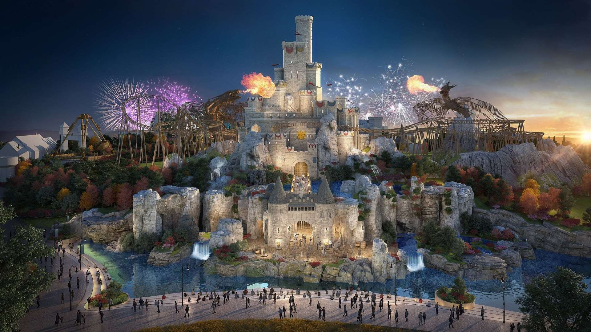 The £5 billion London Resort is hoping to open its first park in 2024. Picture: LRHC