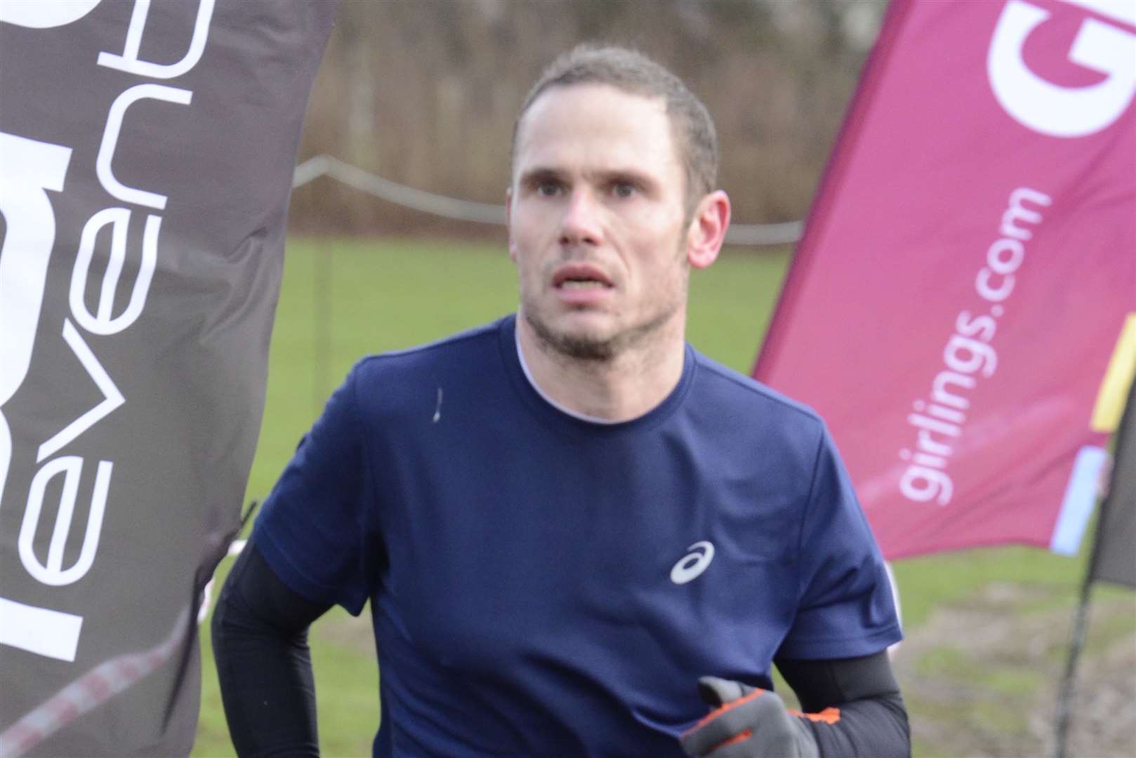 Nick Collins of Ashford AC won the one-hour challenge