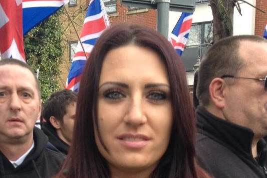 Jayda Fransen is the deputy leader of far right movement Britain First