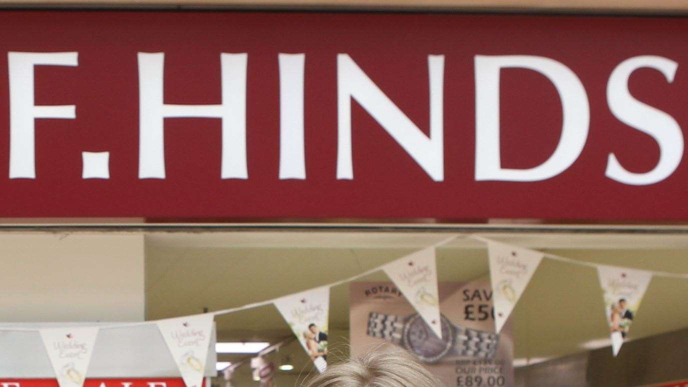 F Hinds already has outlets across Kent, including Ramsgate, Dover, Gillingham, Sittingbourne, Folkestone and Ashford