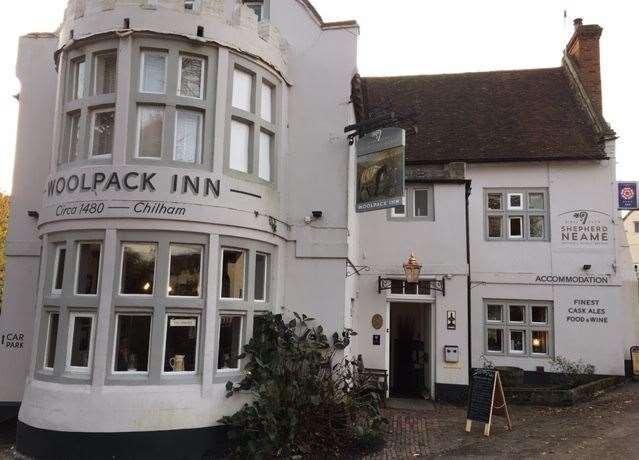 The Woolpack Inn is a large, impressive hotel and hostelry surrounded by a number of other buildings which house guest bedrooms