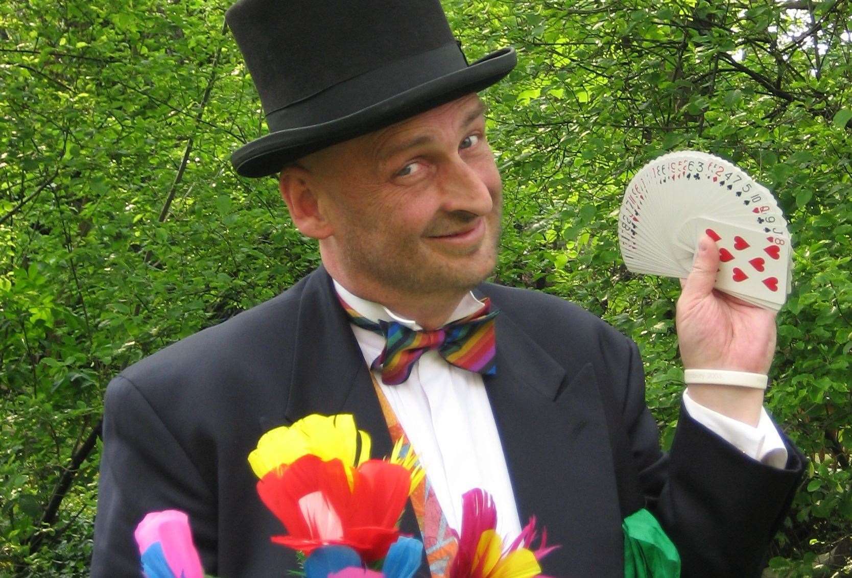 Professor Palmermoff will be doing his magic at the Canterbury Festival!