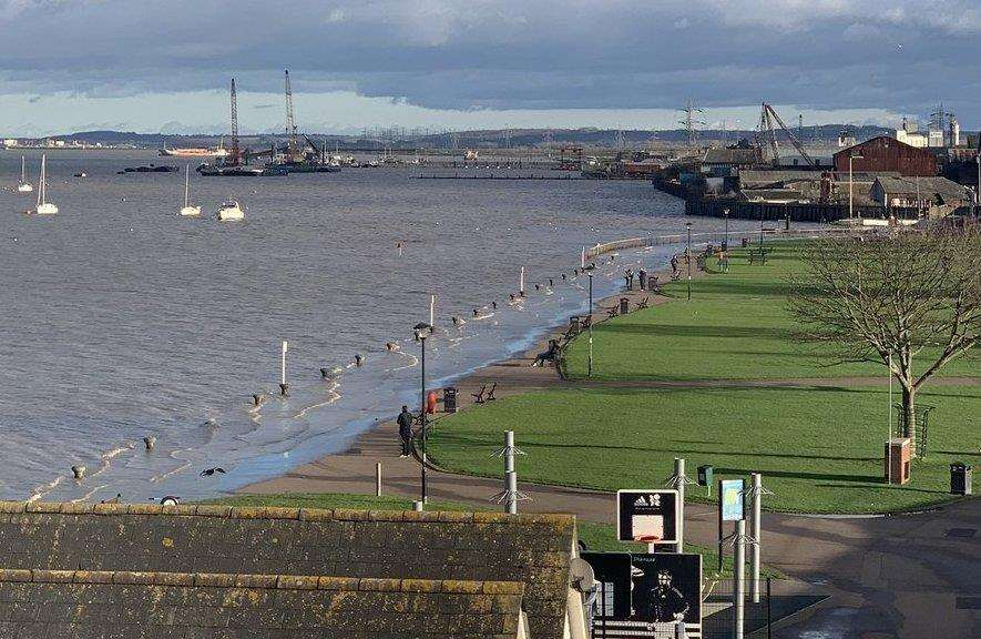 The seafront at Gravesend. Picture: Emma Hurley