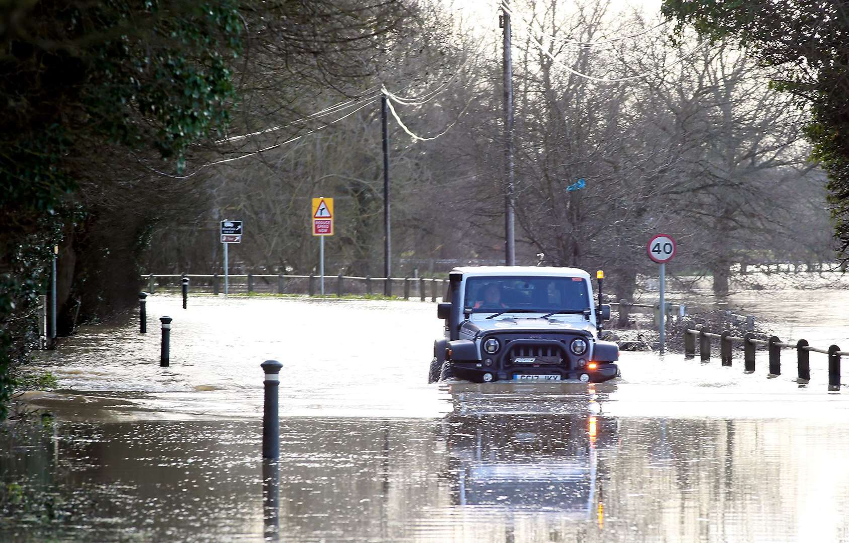 Flooding in Yalding