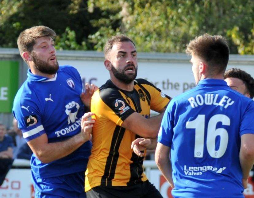 Maidstone want to keep Simon Walton Picture: Steve Terrell