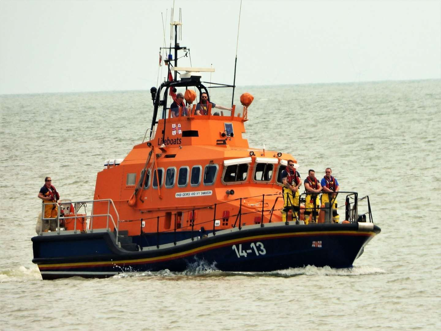 Sheerness RNLI lifeboat at sea. Picture: RNLI