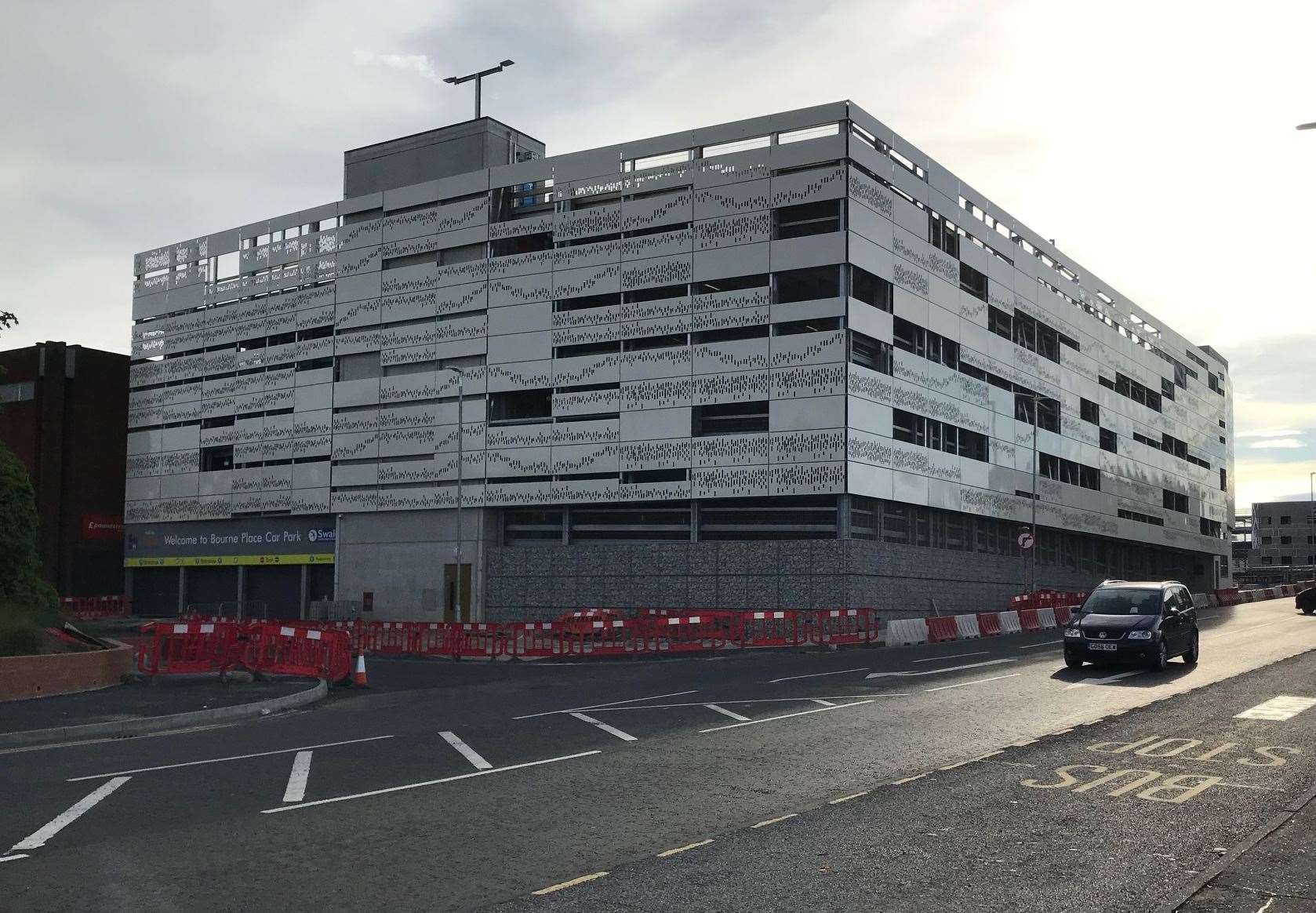 The multi-storey car park is set to open in summer