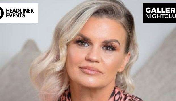 Kerry Katona will be at Gallery in Maidstone