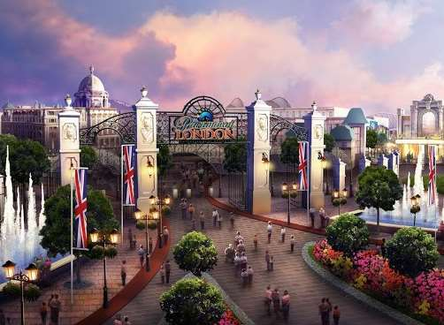 Developers hope the resort will be open - without the Paramount branding - in 2023
