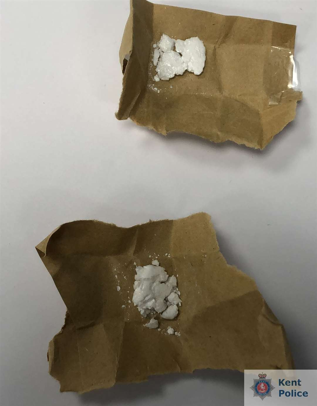 Drugs found by officers (11911400)