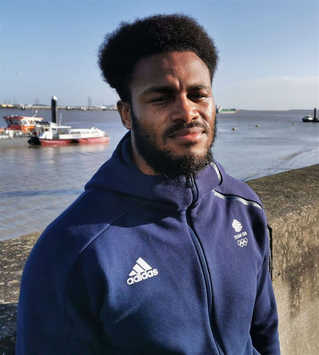 Gravesend boxer Cheavon Clarke has his sights set on the Tokyo Games