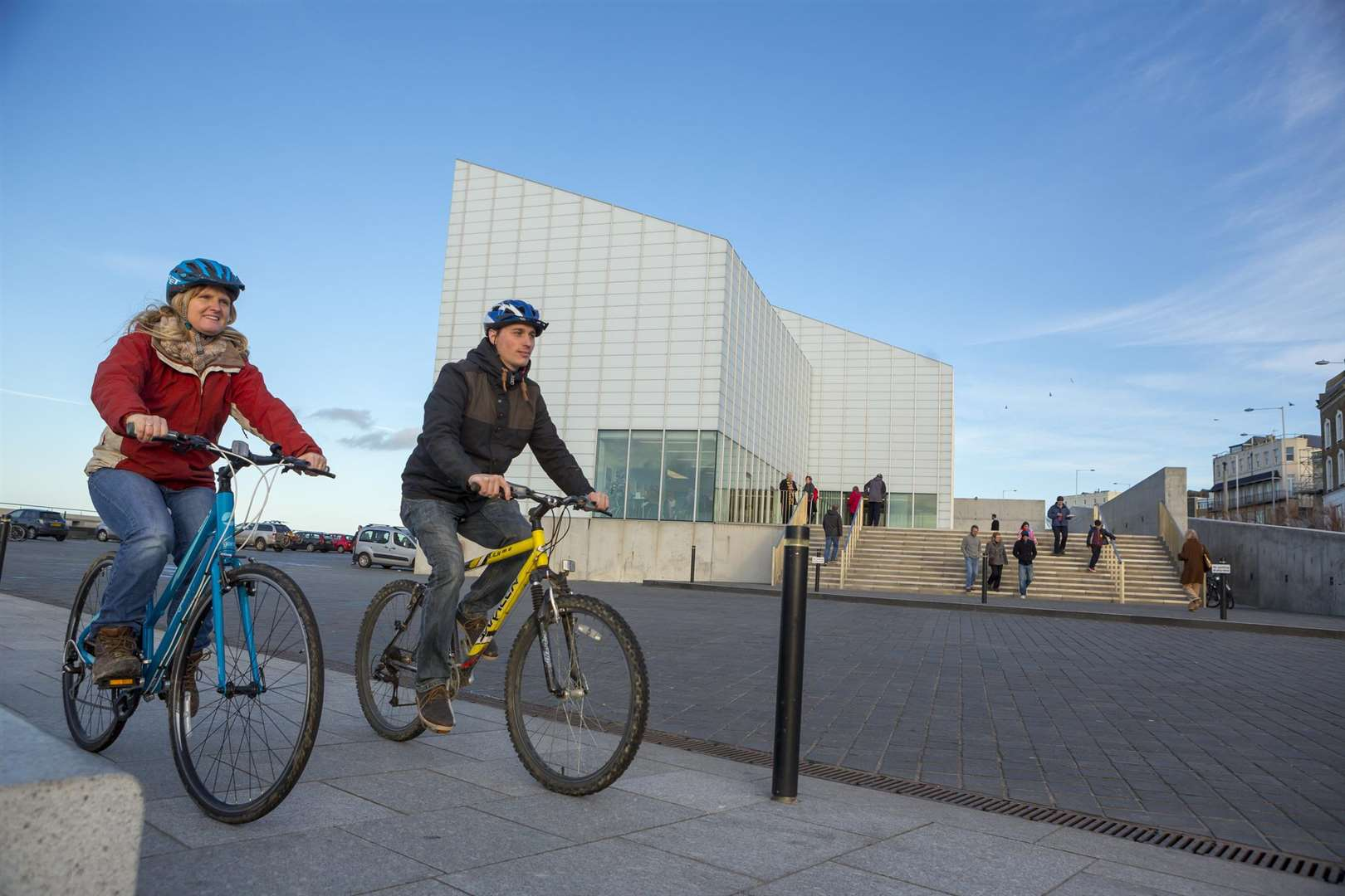 The trail takes you past the Turner Contemporary