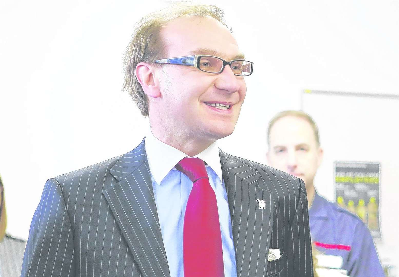 Hadlow Group deputy principal and deputy chief executive Mark Lumsdon-Taylor was also suspended