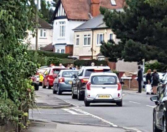 A boy was hit by a car in Old Road East, Gravesend