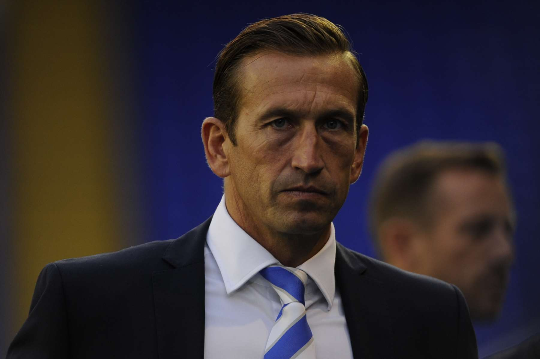 Gillingham manager Justin Edinburgh Picture: Barry Goodwin
