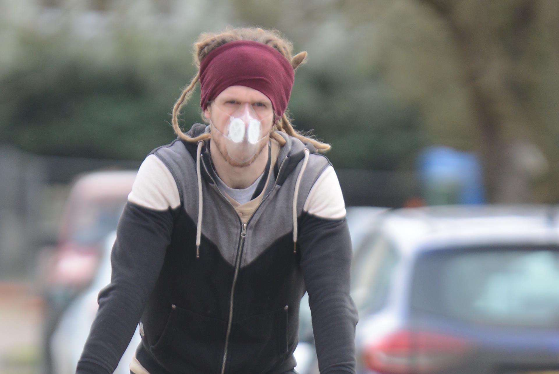 Pollution is high in parts of Canterbury and Herne