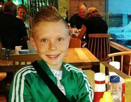 Lewie Herbert, 14, was filmed being picked up and thrown by a supermarket security guard