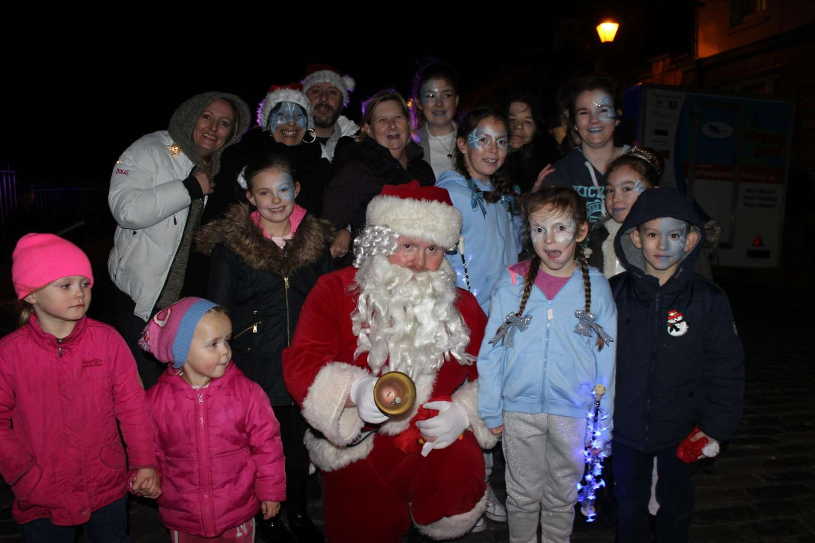 Father Christmas at Queenborough lights parade last year