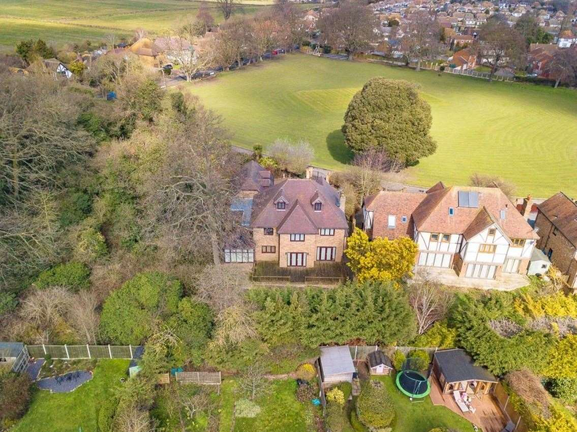 The house overlooks Broadstairs Cricket Ground. Picture: Zoopla / Zest