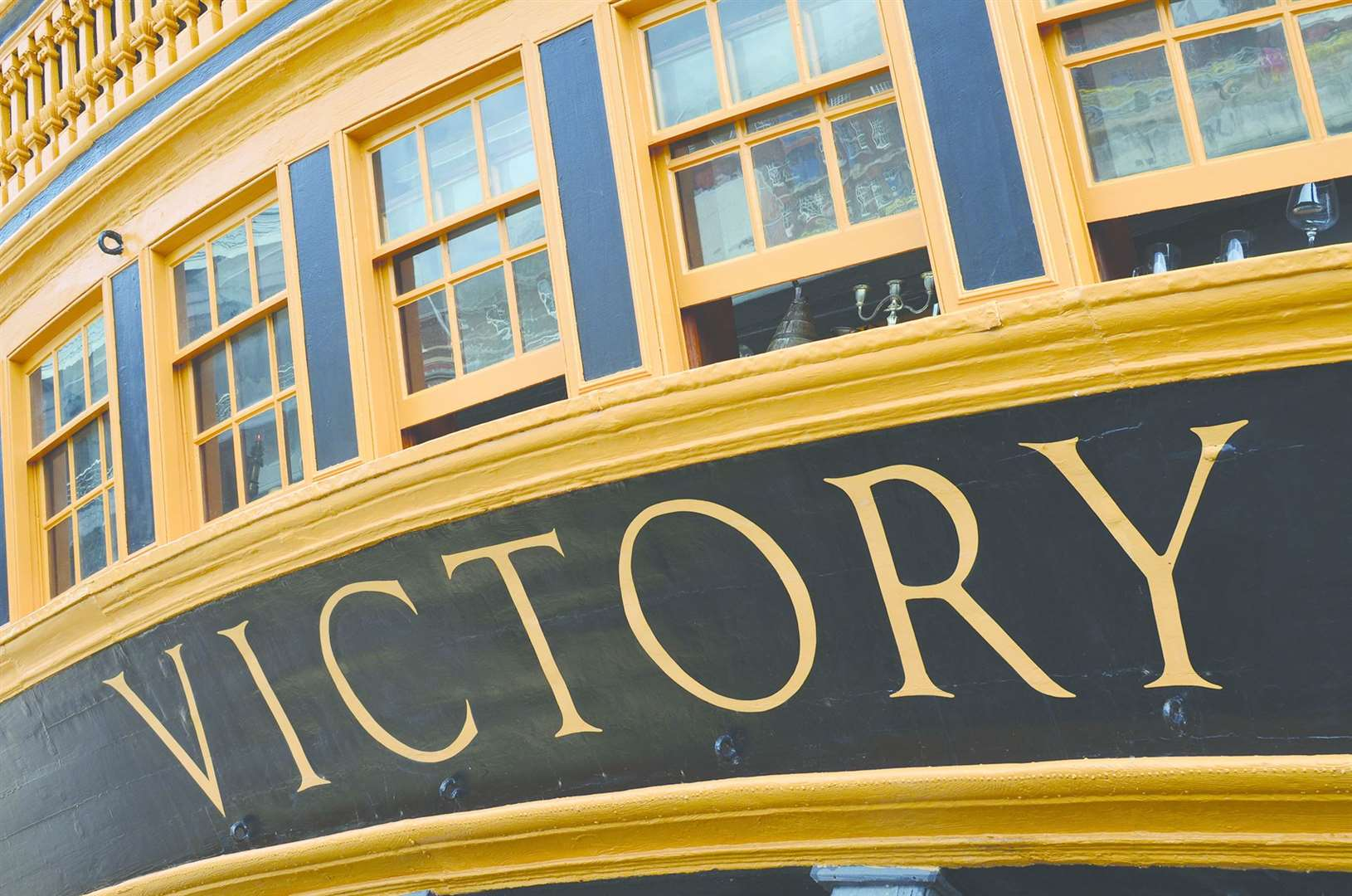 Nelson's flagship HMS Victory was built in Chatham
