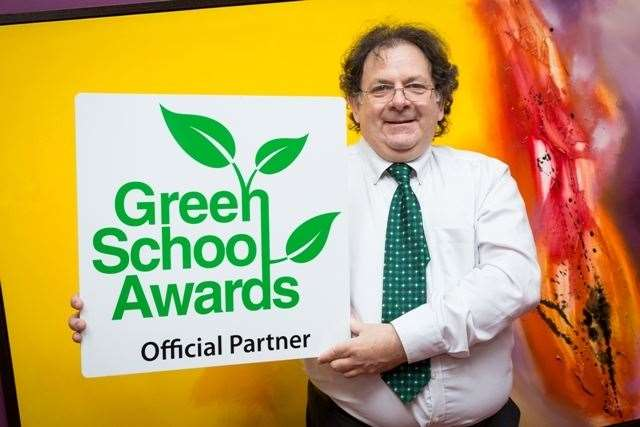 Loop CR owner Richard Langshaw says the Green School Awards can encourage children to think more about what they can do to protect the environment (20891980)