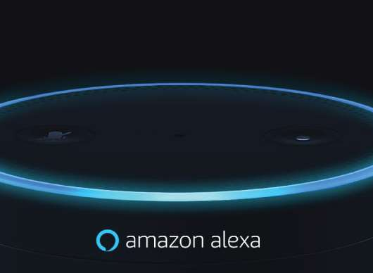 The Amazon Echo is an Alexa-enabled device. Stock image