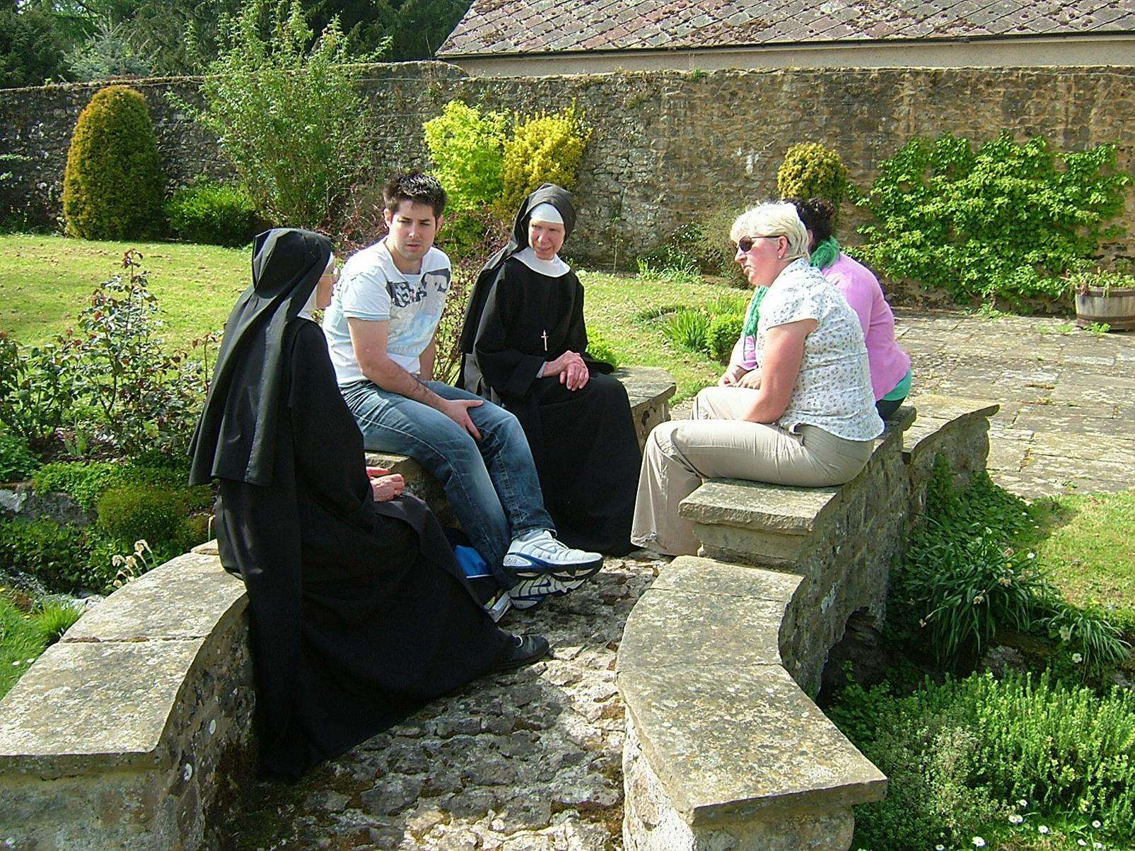 Nuns and guests in St Mary's Abbey in West Malling (7267936)