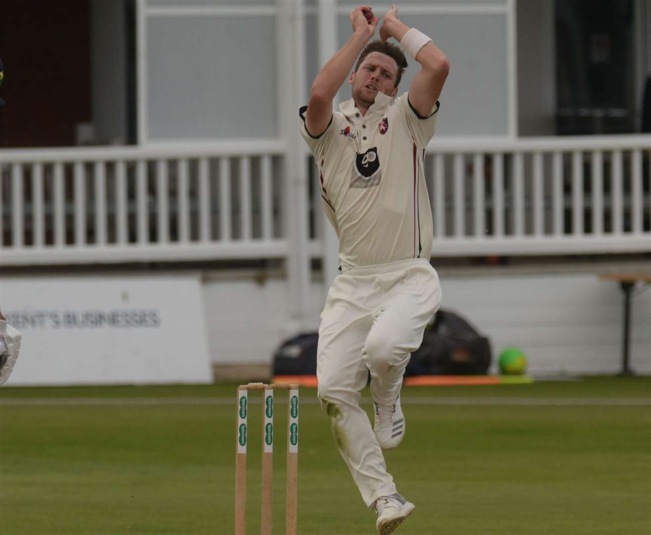 Matt Henry has re-signed for Kent. Picture: Chris Davey