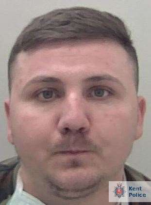 Marian Dinca has been jailed for four years and four months. Photo: Kent Police