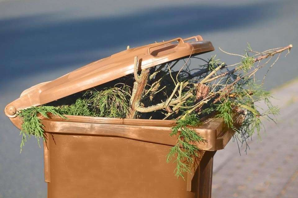 Thanet District Council charges more than £50 per year for their garden waste collection service