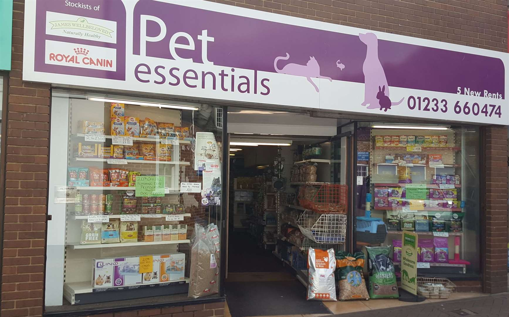How Pet Essentials looks today in New Rents