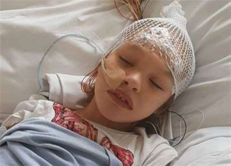Nine-year-old Teagan Appleby has severe epilepsy