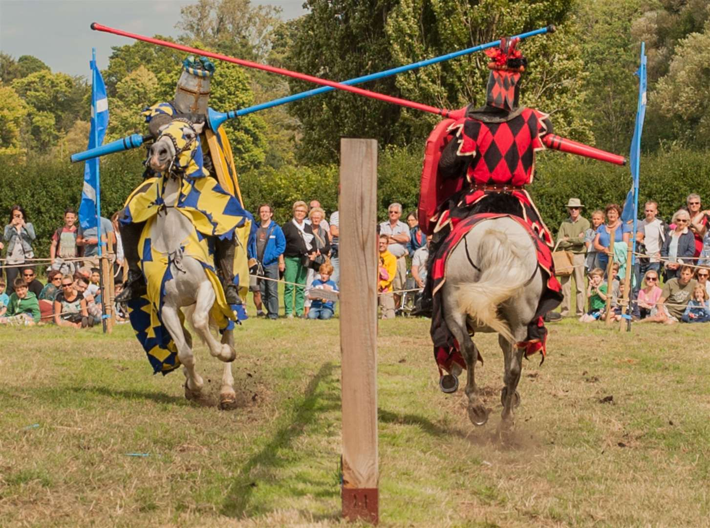 Jousting tournaments will be taking place at Hever Castle