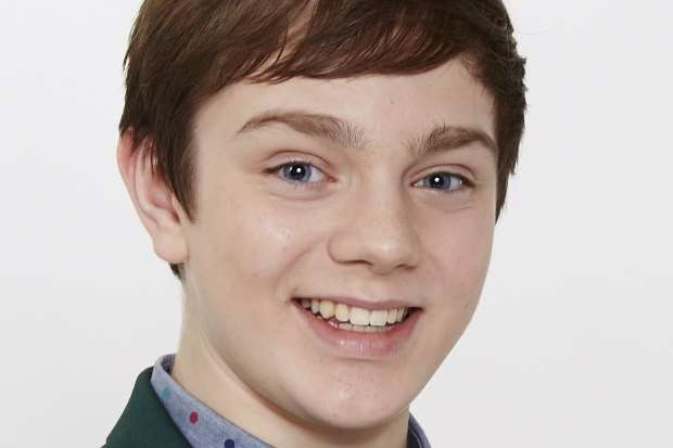 Toby Turpin who is appearing in Hairspray