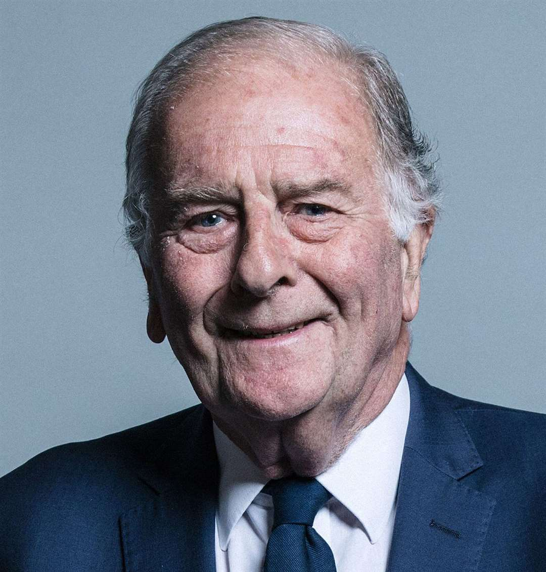 North Thanet MP Sir Roger Gale