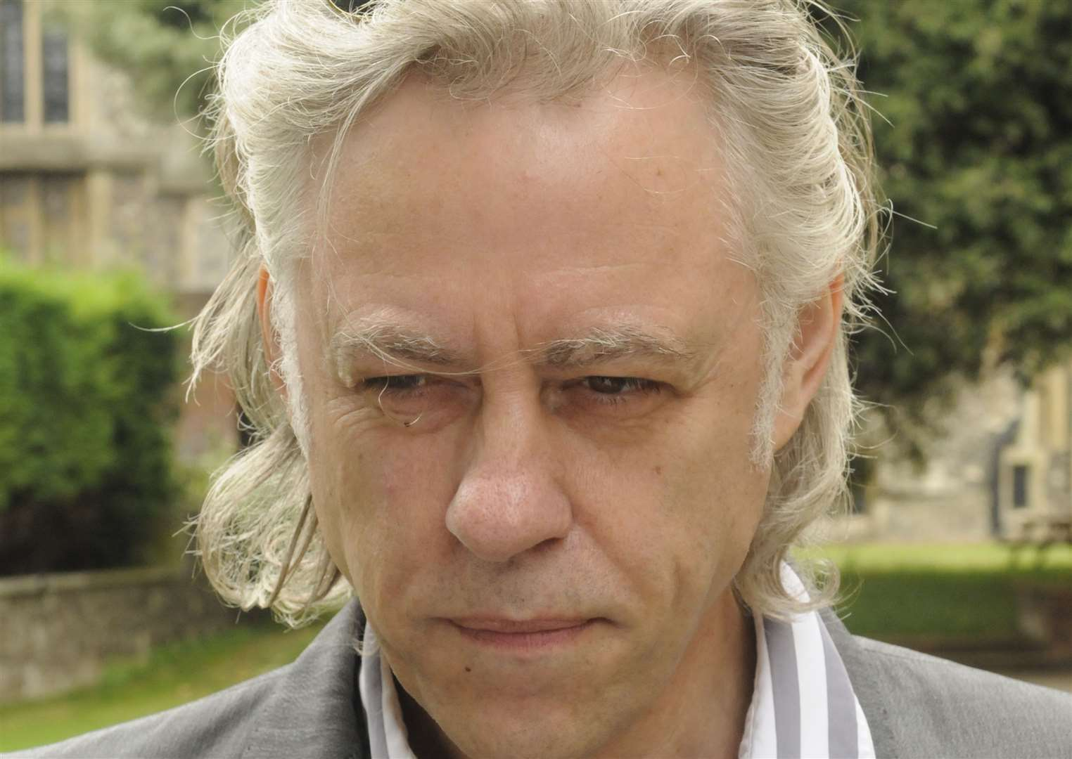 Sir Bob Geldof wants to create a haven for wildlife in his garden