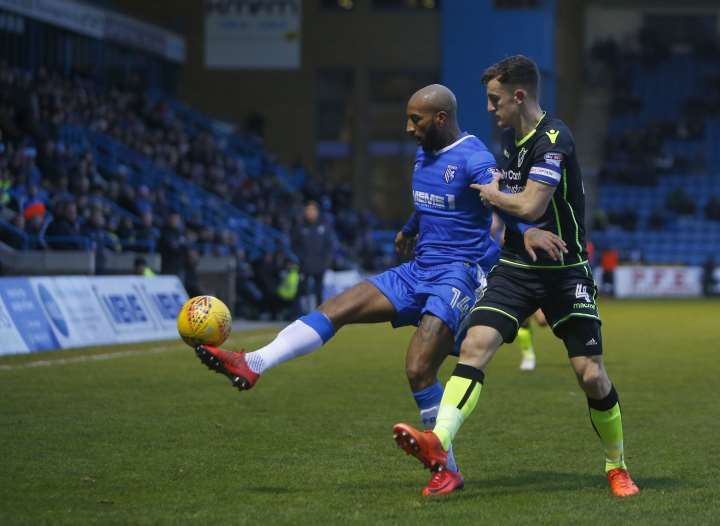 Josh Parker in action for the Gills Picture: Andy Jones