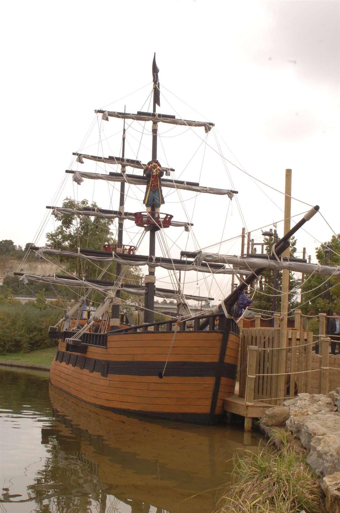 Pirate Cove Adventure Park, Bluewater. Picture: Steve Crispe