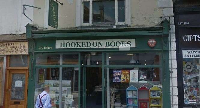 The former Hooked on Books store will be transformed into a vegan hotel and restaurant. Picture: Google Street View