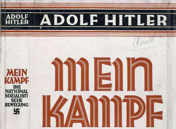 Mein Kampf. Picture: Wiki Commons.