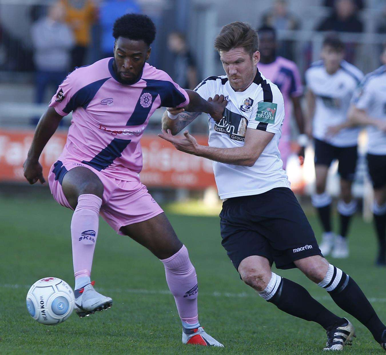 Dartford's Elliot Bradbrook has scored five goals so far this season Picture: Andy Jones