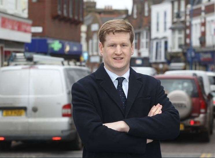 Kent's Police and Crime Commissioner Matthew Scott