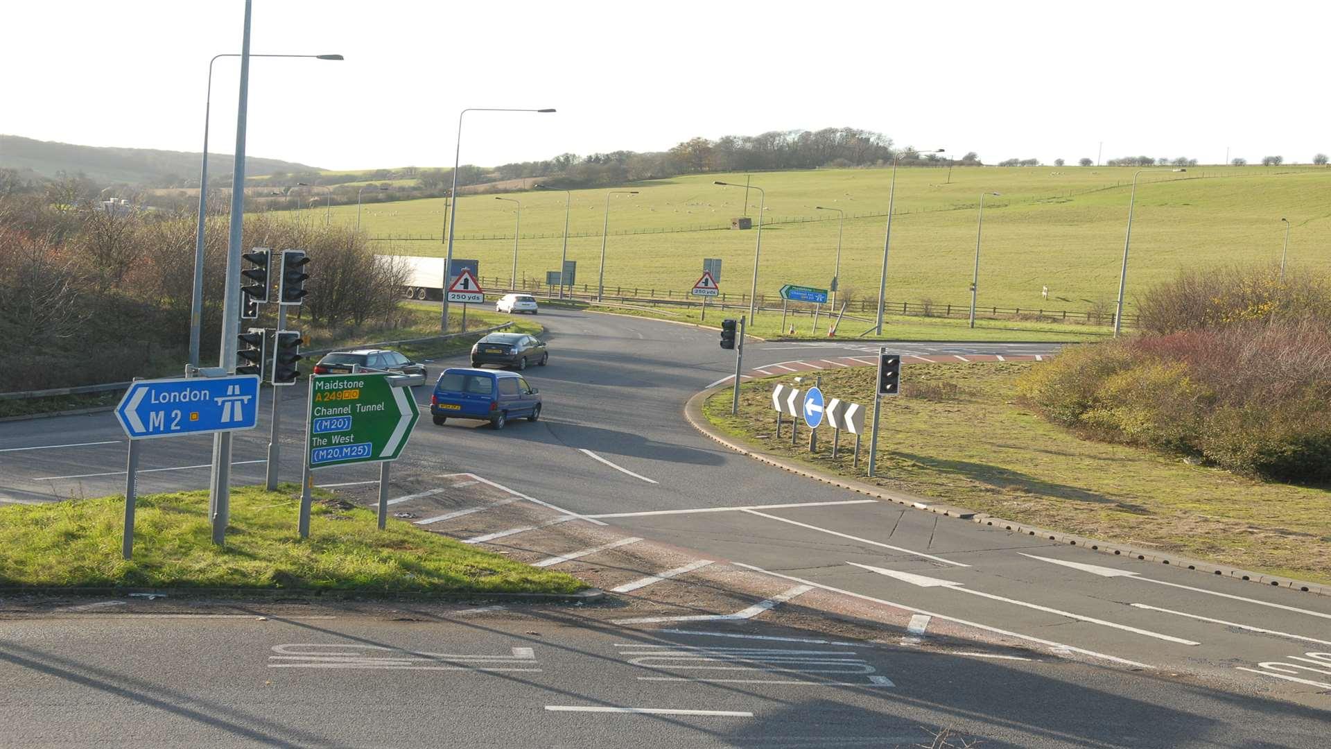 M2 crash: Car and car transporter in accident near Stockbury
