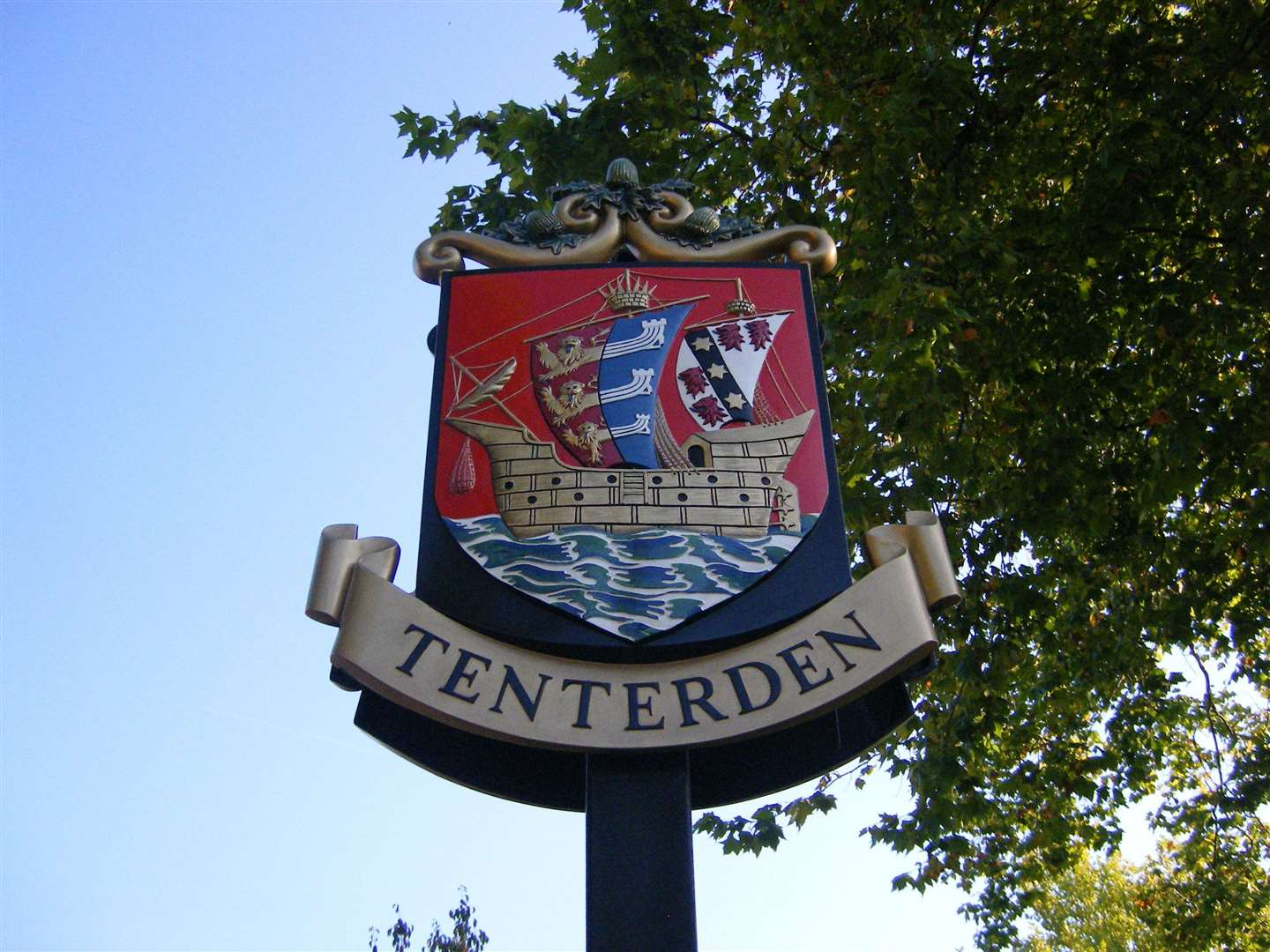 The family live in Tenterden